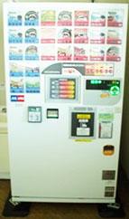図08-09. 入替後の自動販売機(技術棟3Fロビー)100型
